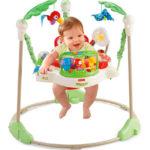 赤ちゃんに歩行器はもう古い。人気のジャンパルーを試してみた