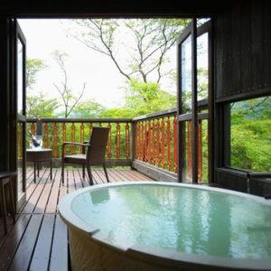 仙石亭客室露天風呂