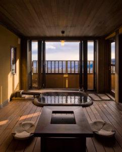 うち山客室露天風呂