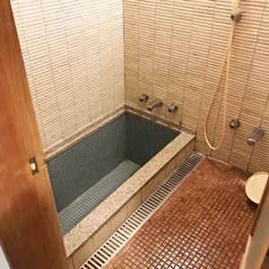 銀水荘一般客室部屋風呂