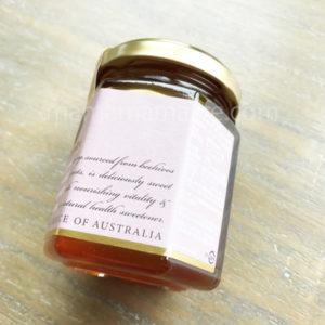 マリーハニーの瓶を横から見た画像