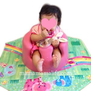生後六か月 6ヶ月から7ヶ月 赤ちゃん ハーフバースデー バンボ 離乳食 椅子 ベビー椅子