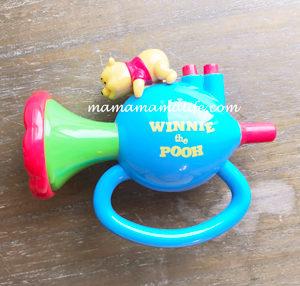 くまのプーさん ラッパ 赤ちゃん 初めてラッパ おもちゃ 玩具