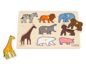 動物パズル