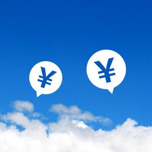 雲と円マーク