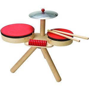 木のドラムのおもちゃ