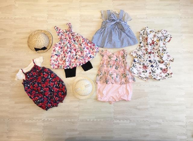 女の子のベビー服